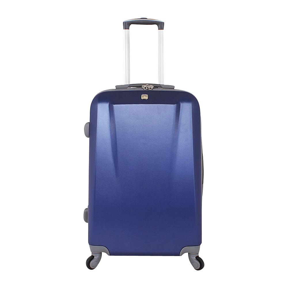 SwissGear Travel Gear 24 Spinner ABS Blue SwissGear Travel Gear Hardside Checked