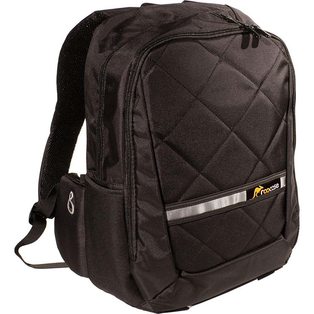 """rooCASE Travel Mate 15.6"""" Laptop Backpack for Macbook Pro Air / Notebook / iPad / Tablet Black - rooCASE Business & Laptop Backpacks"""