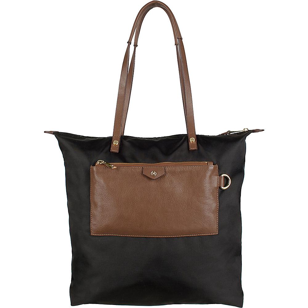 Boulevard Callie Long Tote Black - Boulevard Fabric Handbags