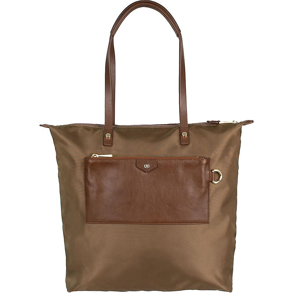 Boulevard Callie Long Tote Camel - Boulevard Fabric Handbags
