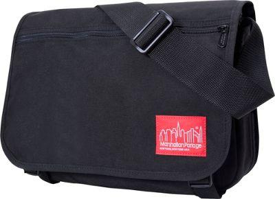 Manhattan Portage Medium Europa Messenger Black - Manhattan Portage Messenger Bags