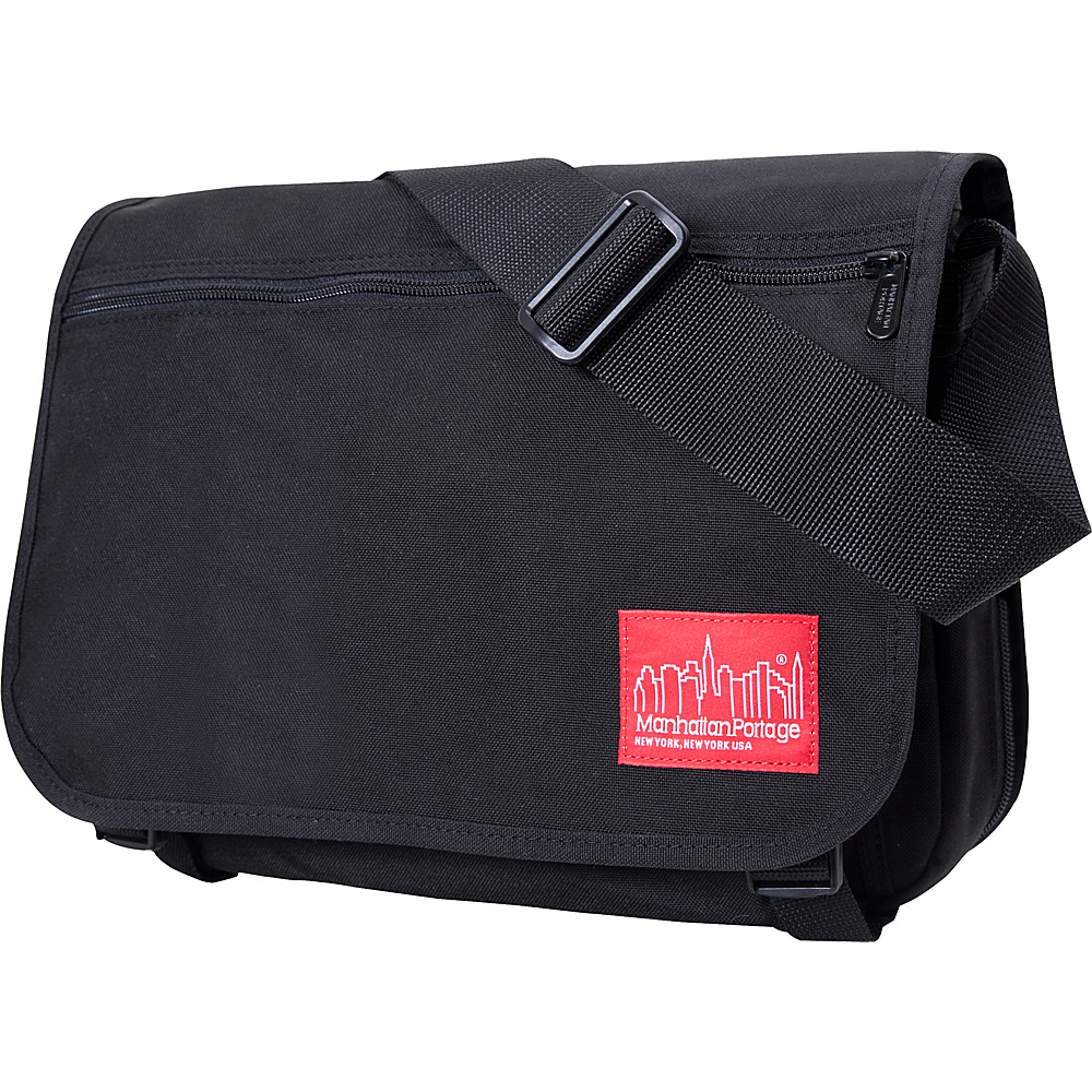 Manhattan Portage Medium Europa Messenger Black - Manhattan Portage Messenger Bags - Work Bags & Briefcases, Messenger Bags