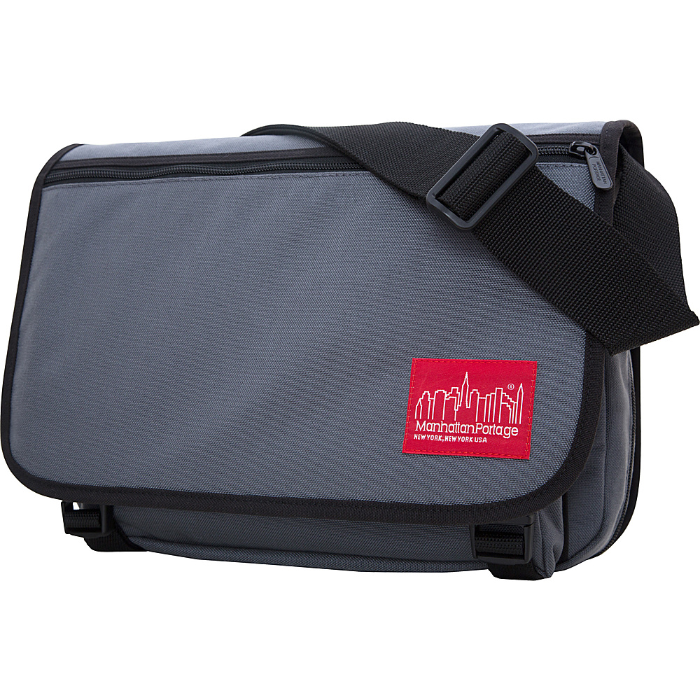 Manhattan Portage Medium Europa Messenger Gray - Manhattan Portage Messenger Bags - Work Bags & Briefcases, Messenger Bags