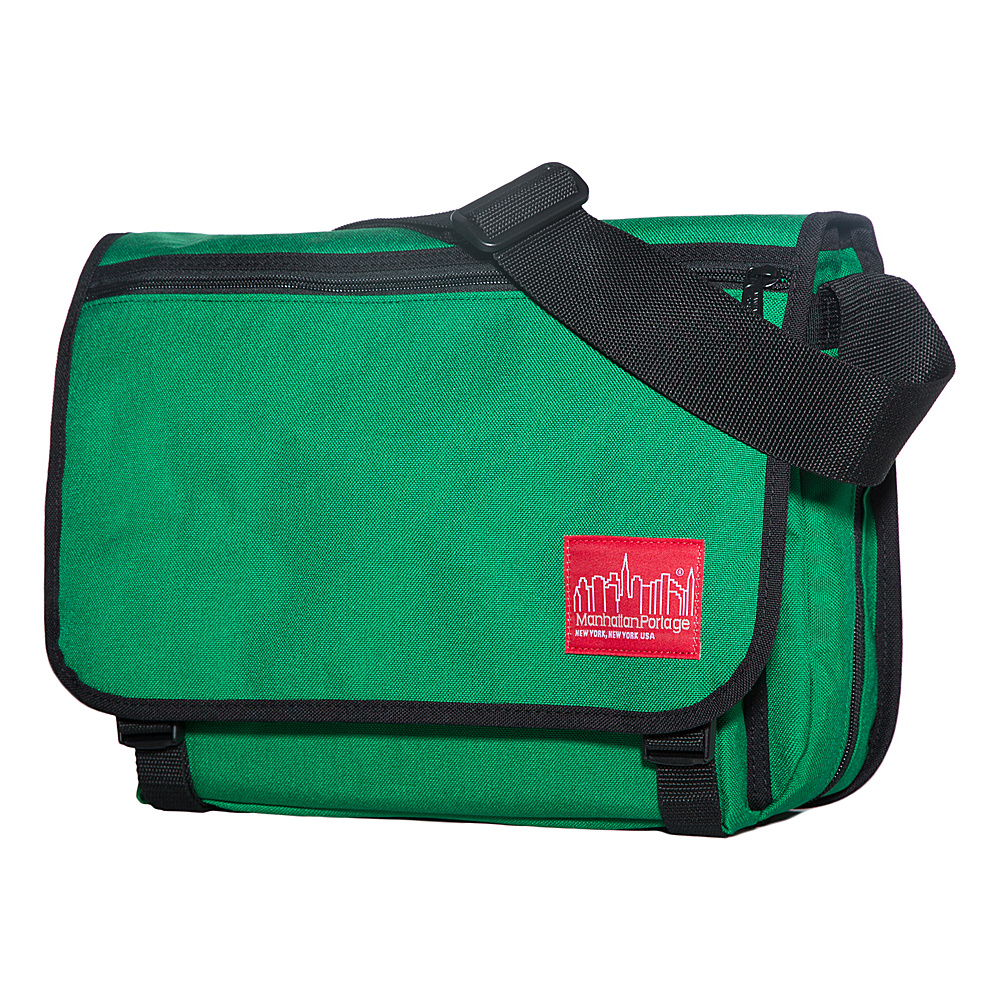 Manhattan Portage Medium Europa Messenger Green - Manhattan Portage Messenger Bags - Work Bags & Briefcases, Messenger Bags
