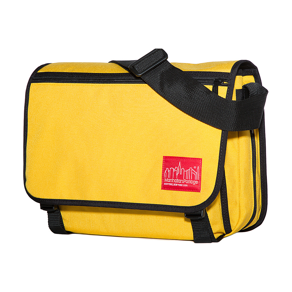 Manhattan Portage Medium Europa Messenger Mustard - Manhattan Portage Messenger Bags - Work Bags & Briefcases, Messenger Bags