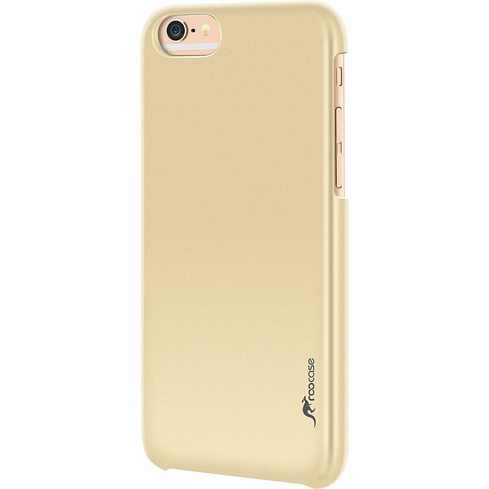 rooCASE Slim Fit Median Hard Case Protective Shell Cover for iPhone 6 6s 4.7 Fossil Gold rooCASE Electronic Cases