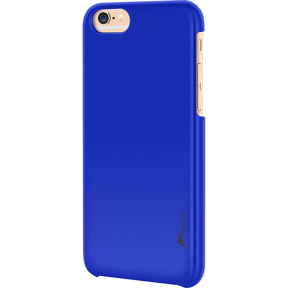 rooCASE Slim Fit Median Hard Case Protective Shell Cover for iPhone 6 6s 4.7 Dark Blue rooCASE Electronic Cases