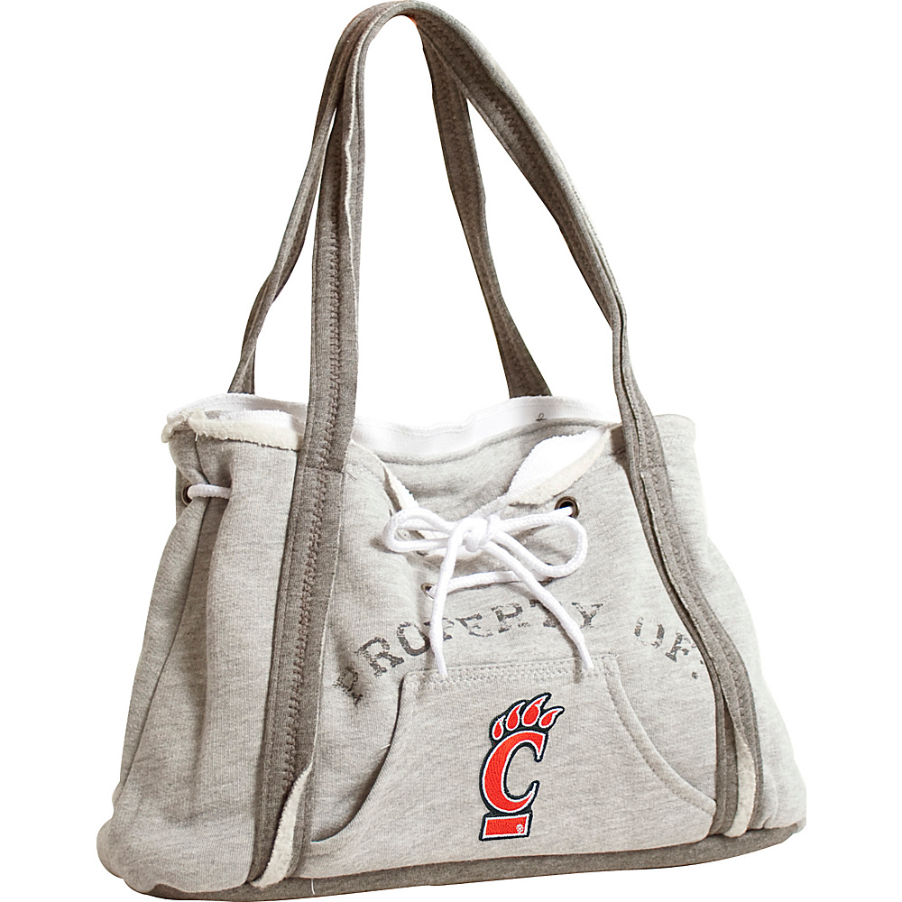 Littlearth Hoodie Purse - Big East Teams Cincinnati, U of - Littlearth Fabric Handbags - Handbags, Fabric Handbags