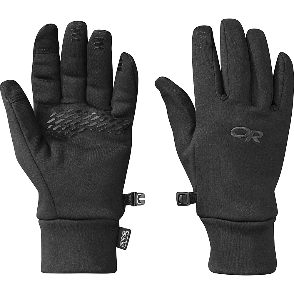 Outdoor Research PL 400 Sensor Gloves Womens L - Black - Outdoor Research Hats/Gloves/Scarves - Fashion Accessories, Hats/Gloves/Scarves