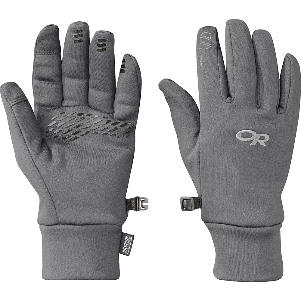 Outdoor Research PL 400 Sensor Gloves Womens M - Charcoal Heather – LG - Outdoor Research Hats/Gloves/Scarves - Fashion Accessories, Hats/Gloves/Scarves