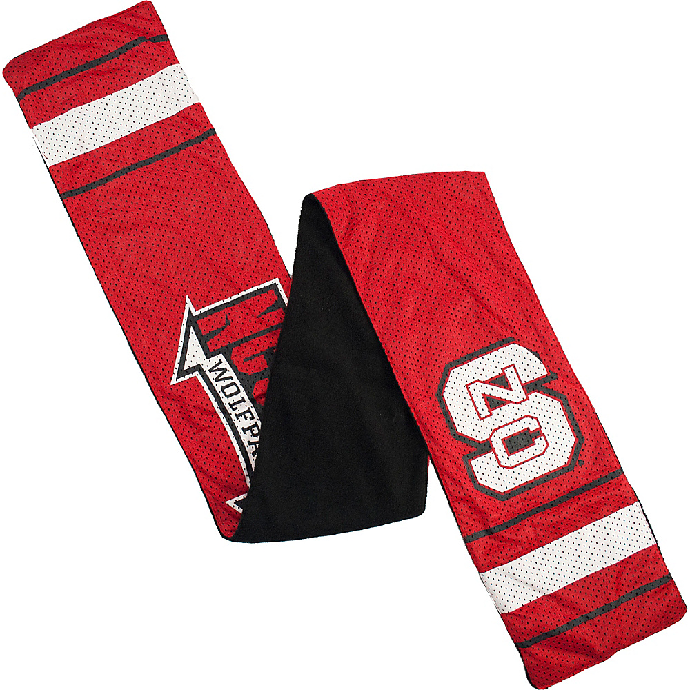Littlearth Jersey Scarf ACC Teams North Carolina State Littlearth Hats Gloves Scarves
