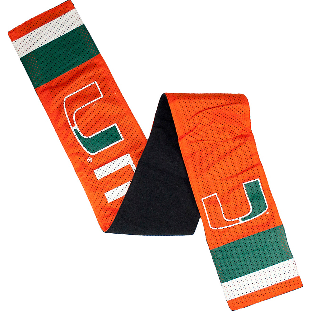 Littlearth Jersey Scarf ACC Teams Miami U of Littlearth Hats Gloves Scarves