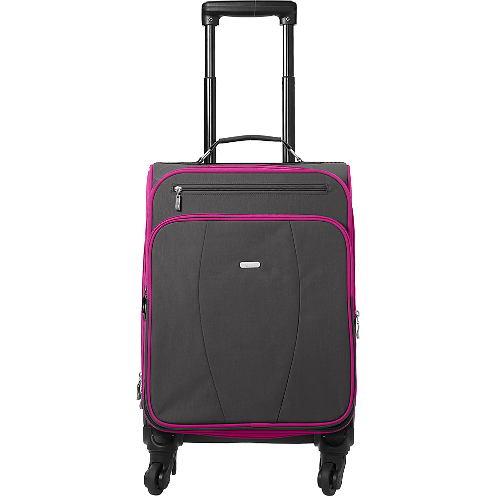 baggallini Getaway Roller Charcoal - baggallini Softside Carry-On - Luggage, Softside Carry-On
