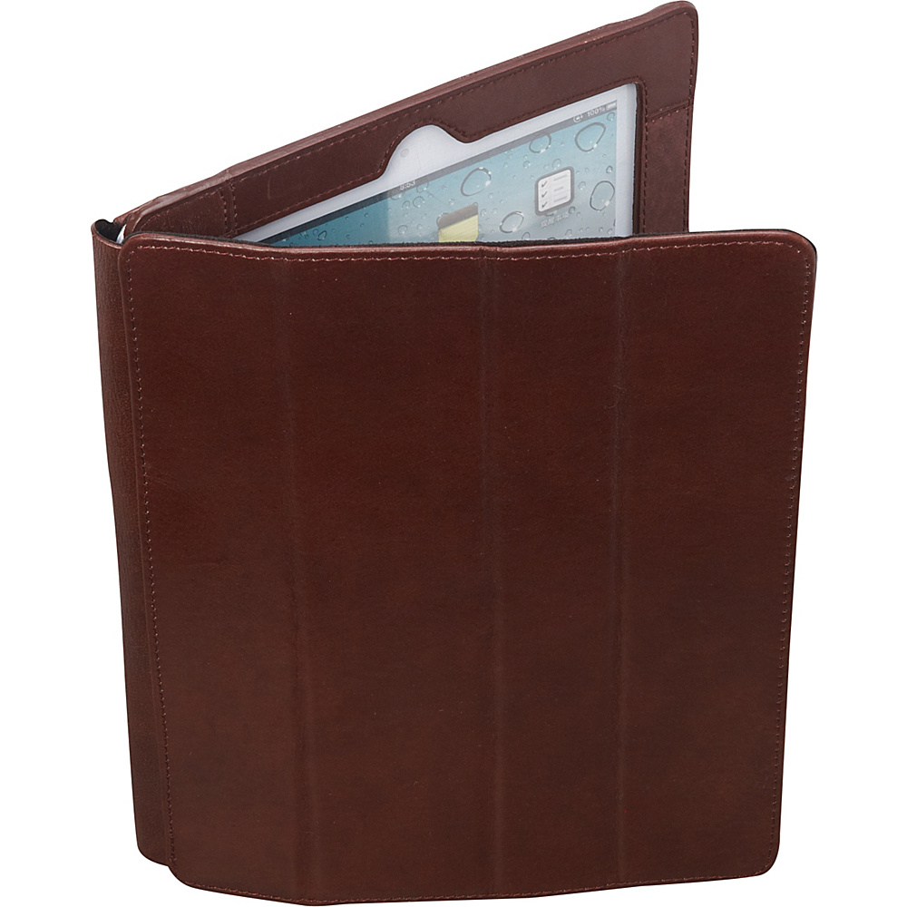 Latico Leathers iPad Case Brown - Latico Leathers Electronic Cases