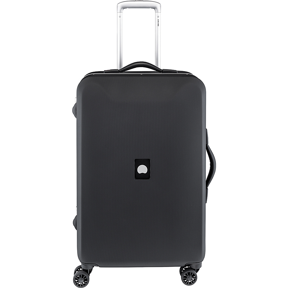 "Delsey Honore+ 23.5"" Spinner Trolley Black - Delsey Hardside Luggage"
