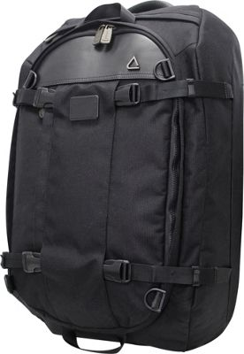 Andiamo Avanti Convertible Metro Pack Midnight Black - Andiamo Travel Backpacks