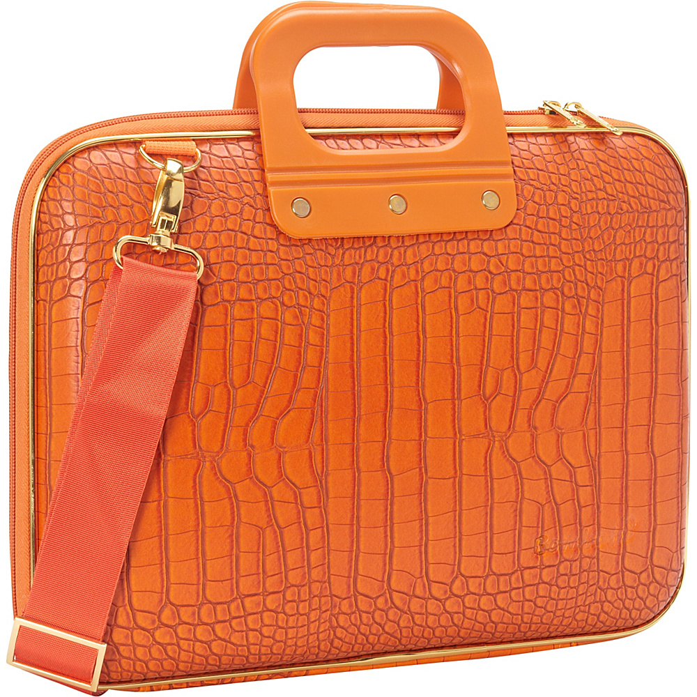 Bombata Gold Cocco 13 inch Laptop Case Orange Bombata Non Wheeled Business Cases