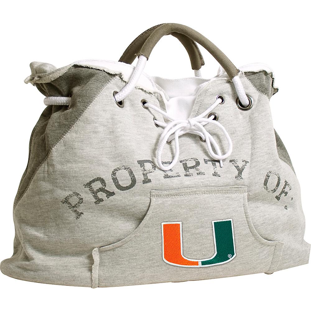 Littlearth Hoodie Tote - ACC Teams Miami, U of - Littlearth Fabric Handbags - Handbags, Fabric Handbags