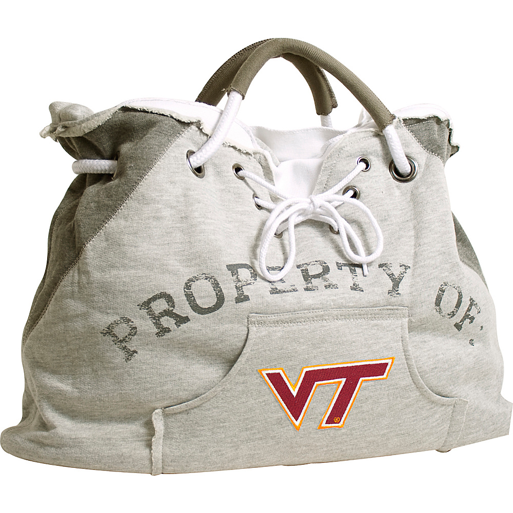Littlearth Hoodie Tote - ACC Teams Virginia Tech - Littlearth Fabric Handbags - Handbags, Fabric Handbags