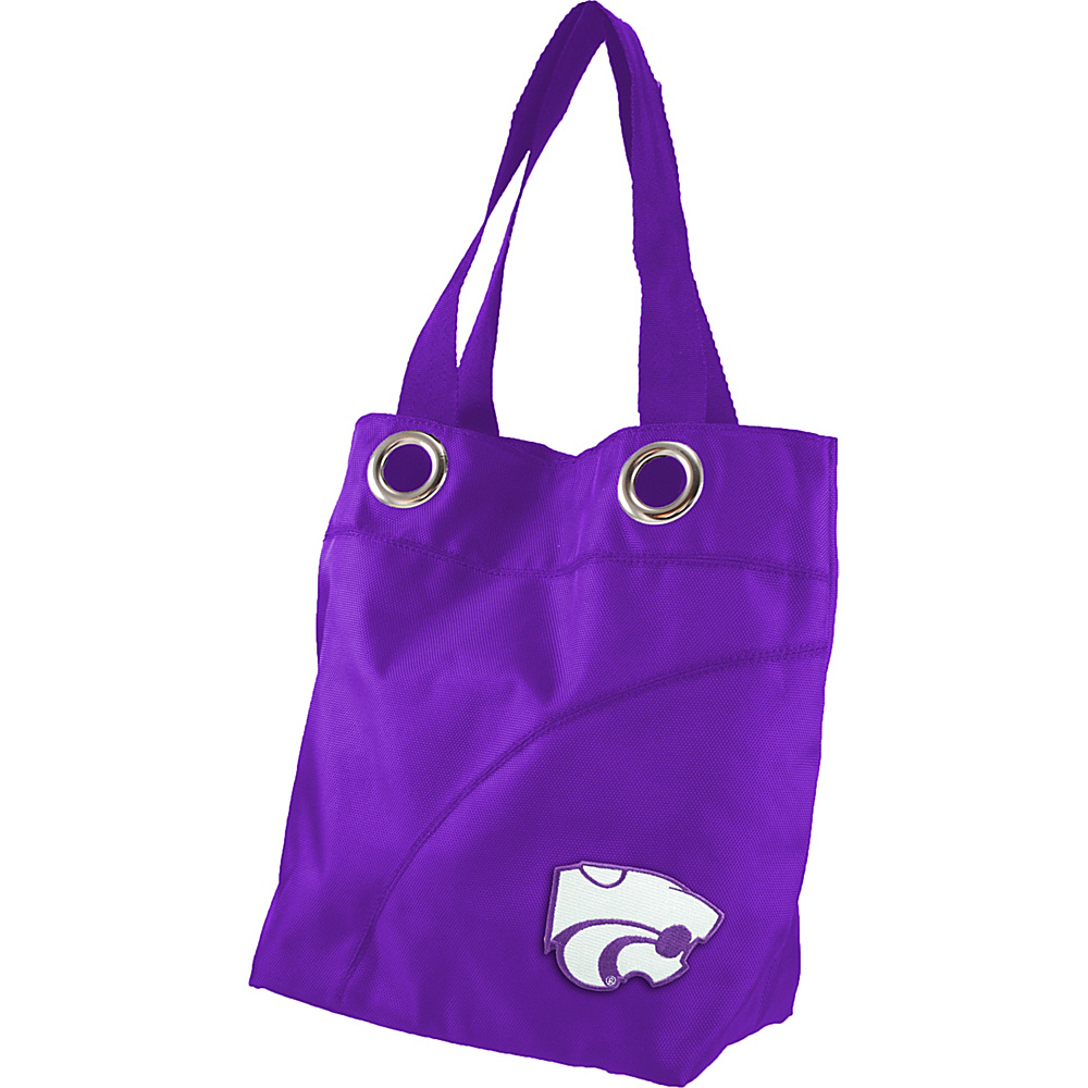 Littlearth Color Sheen Tote - Big 12 Teams Kansas State University - Littlearth Fabric Handbags - Handbags, Fabric Handbags