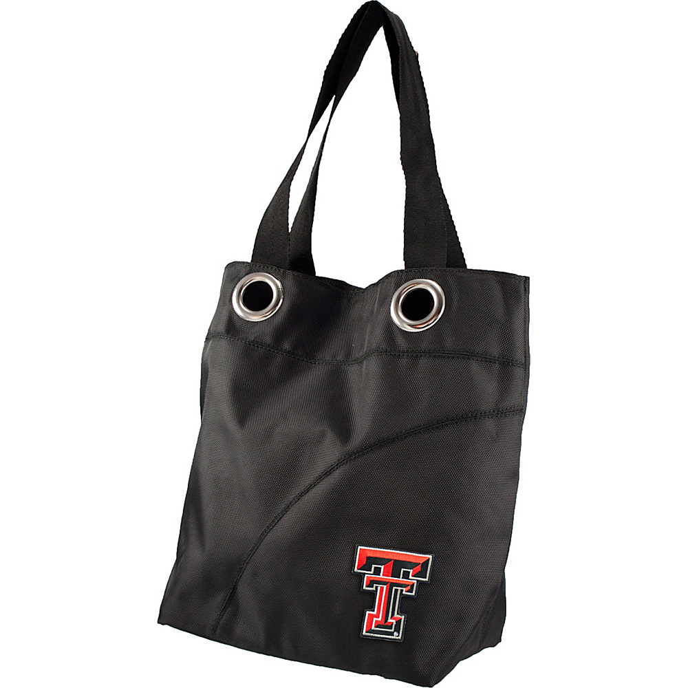 Littlearth Color Sheen Tote - Big 12 Teams Texas Tech University - Littlearth Fabric Handbags - Handbags, Fabric Handbags
