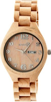 Earth Wood Sapwood Watch Khaki/Tan - Earth Wood Watches