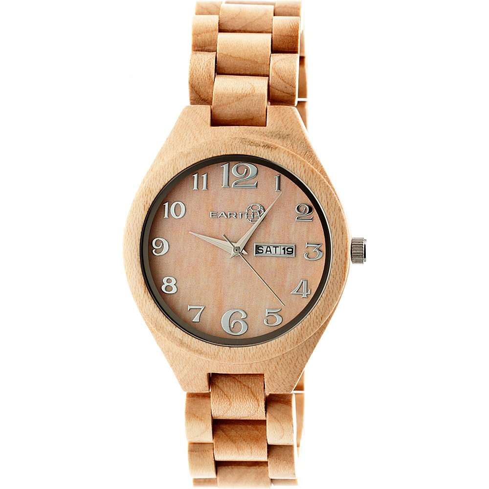 Earth Wood Sapwood Watch Khaki Tan Earth Wood Watches