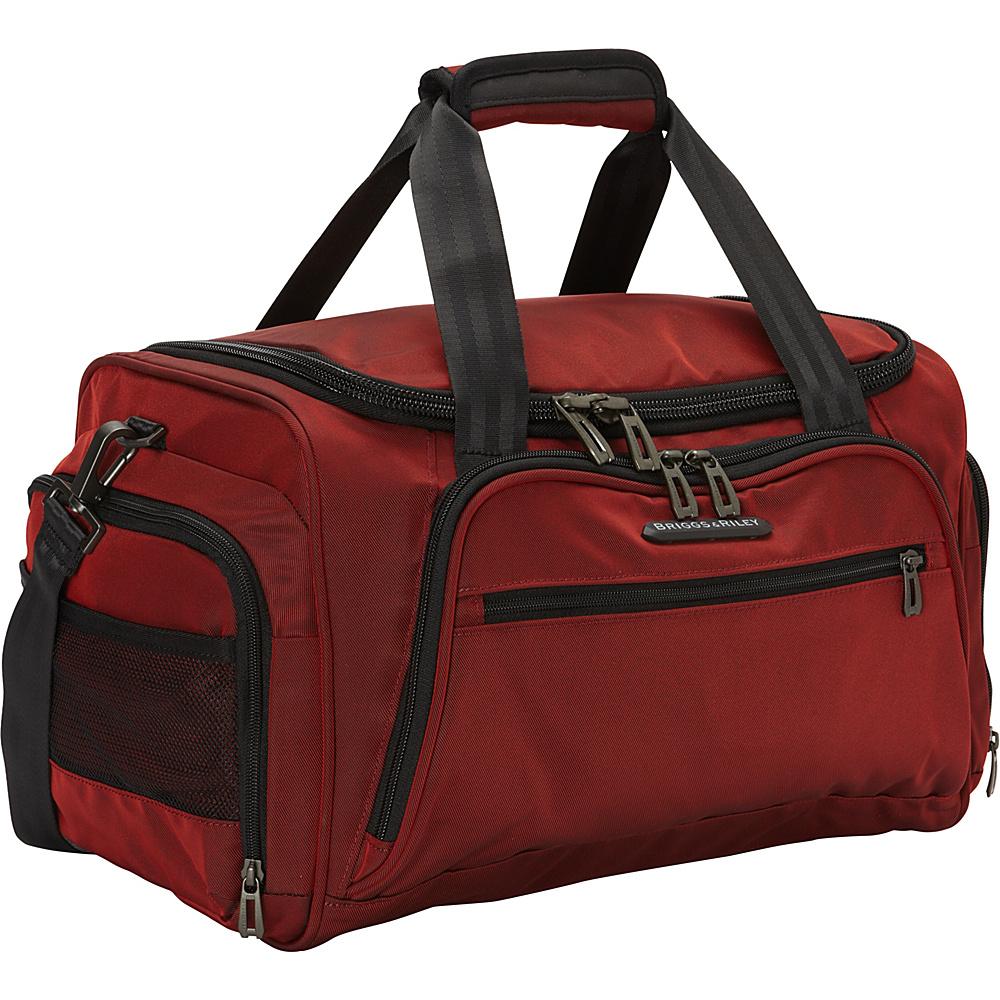 Briggs Riley Transcend 300 Cabin Duffle Bag Crimson Briggs Riley Travel Duffels