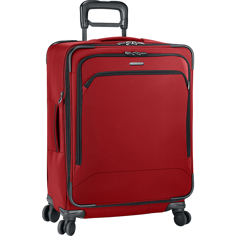 Briggs Riley Transcend 300 Medium 25 Expandable Spinner Crimson Briggs Riley Softside Checked