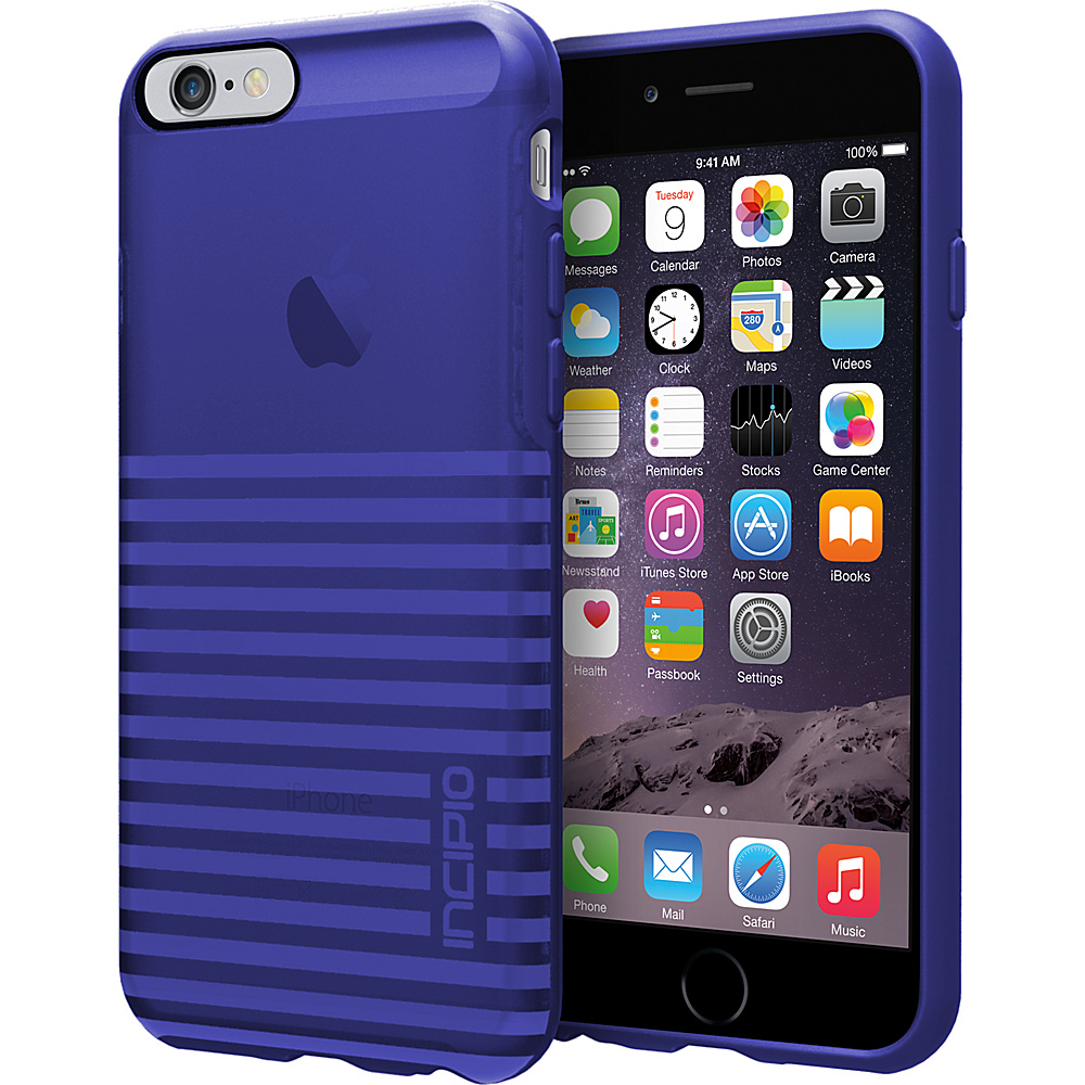 Incipio Rival iPhone 6 6s Case Translucent Cobalt Incipio Electronic Cases