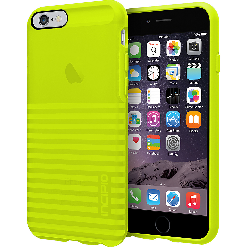 Incipio Rival iPhone 6 6s Case Translucent Electric Lime Incipio Electronic Cases