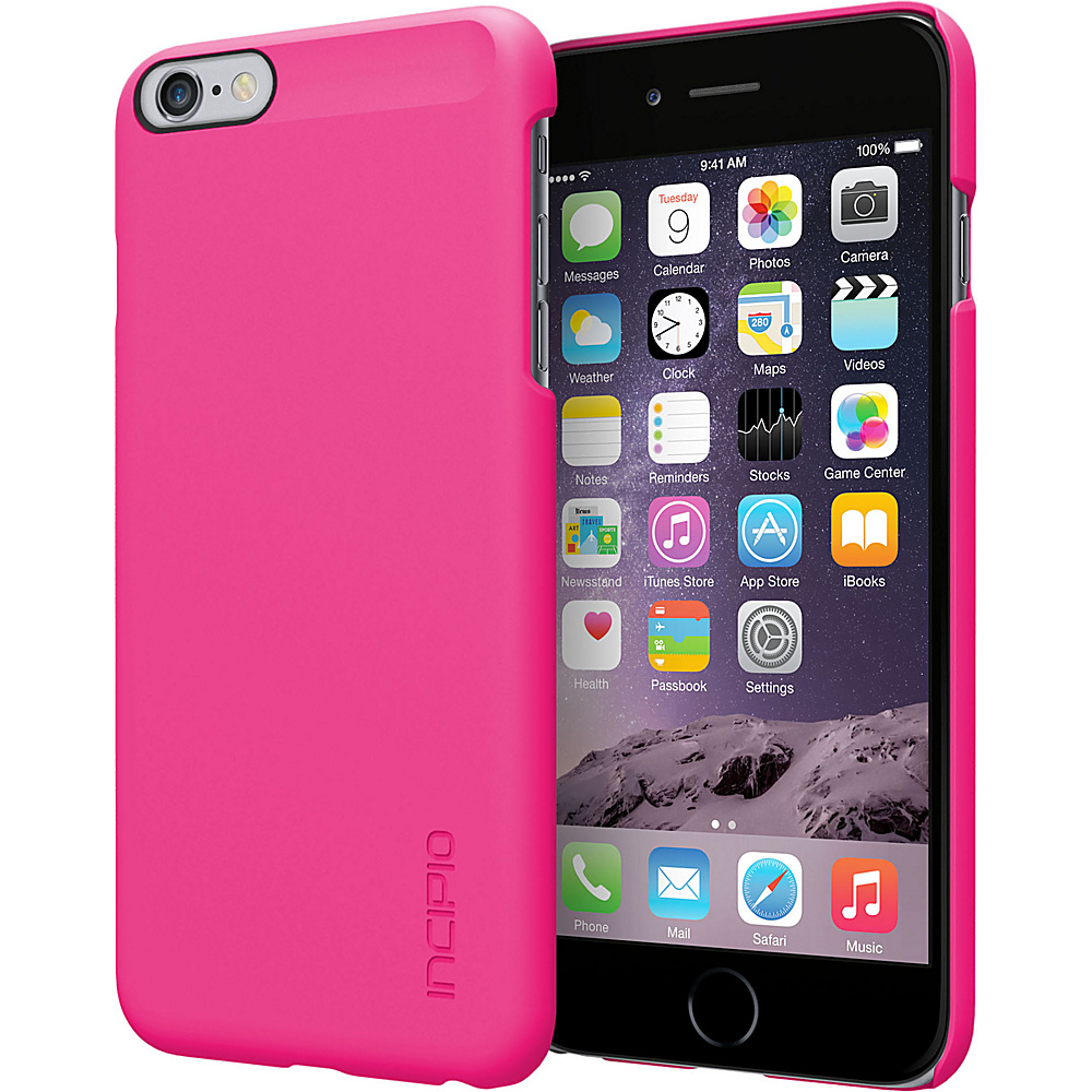 Incipio Feather iPhone 6 Plus Case Pink/Pink - Incipio Elect