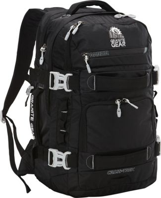 Granite Gear Cross-Trek 36 Liter Backpack Black/Chromium - Granite Gear Business & Laptop Backpacks