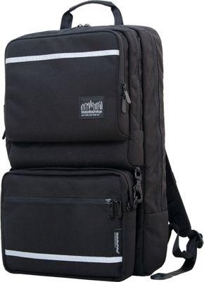 Manhattan Portage Metro Tech Laptop Backpack Black - Manhattan Portage Business & Laptop Backpacks