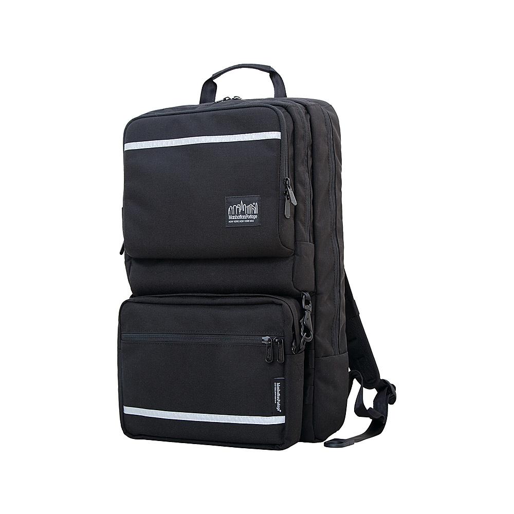 Manhattan Portage Metro Tech Laptop Backpack Black - Manhattan Portage Business & Laptop Backpacks - Backpacks, Business & Laptop Backpacks