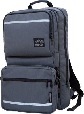Manhattan Portage Metro Tech Laptop Backpack Gray - Manhattan Portage Laptop Backpacks