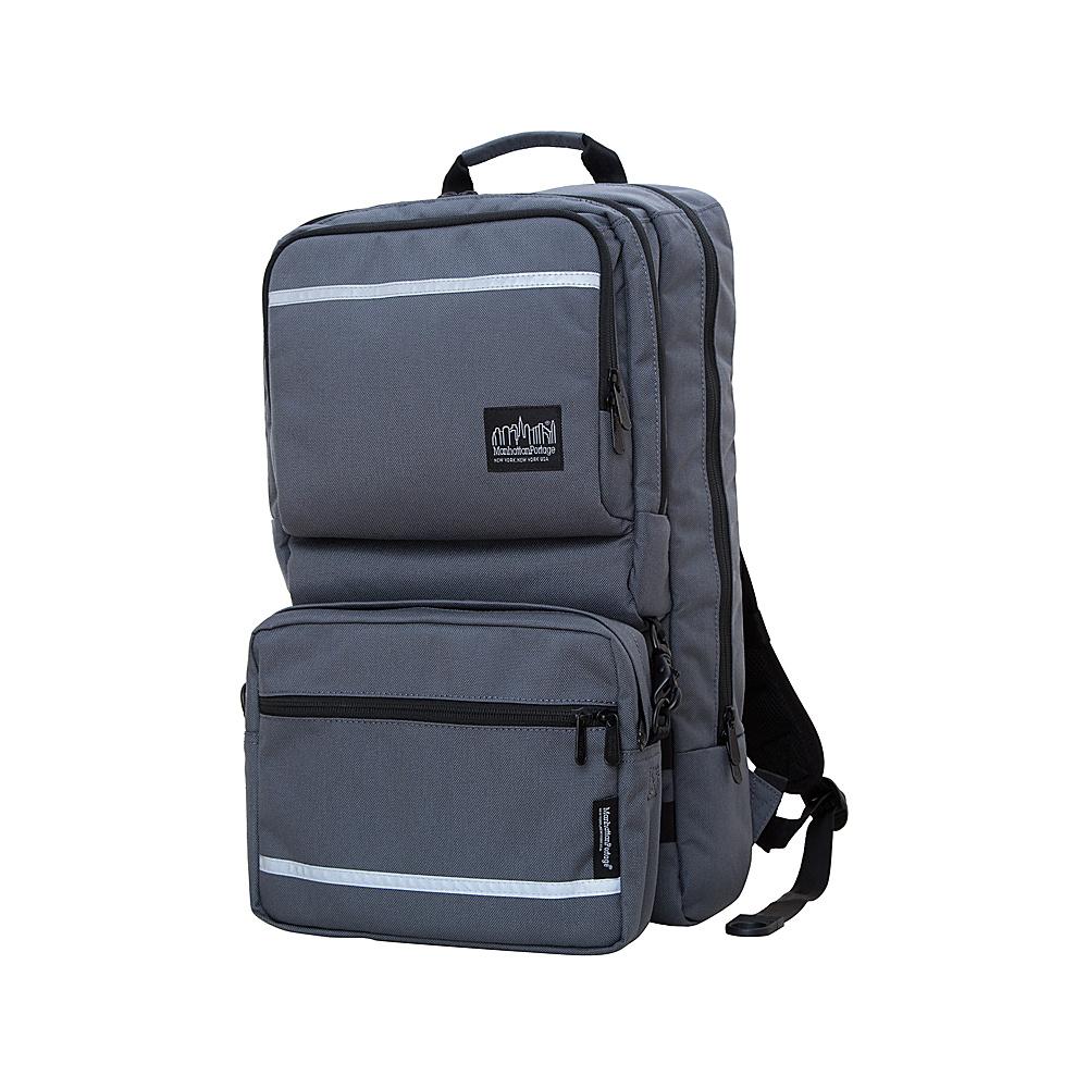Manhattan Portage Metro Tech Laptop Backpack Gray - Manhattan Portage Business & Laptop Backpacks - Backpacks, Business & Laptop Backpacks