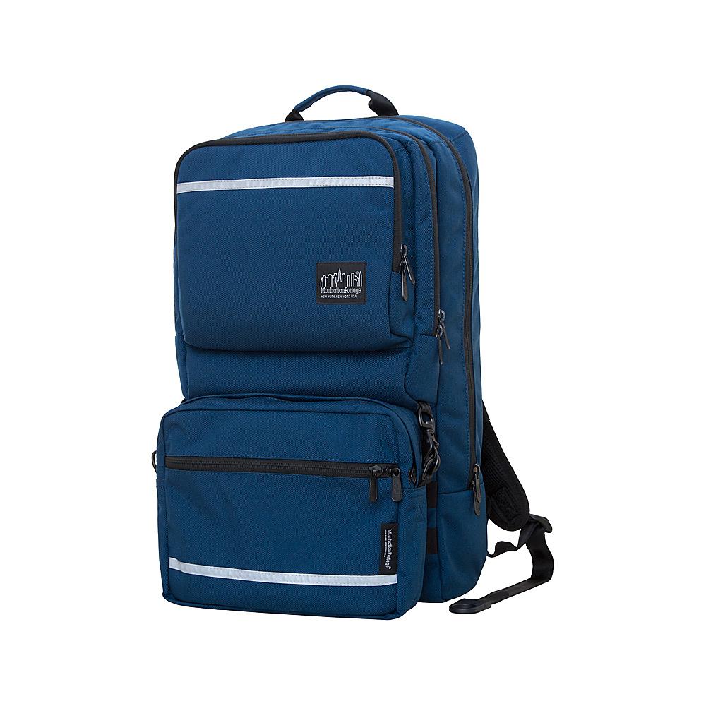 Manhattan Portage Metro Tech Laptop Backpack Navy - Manhattan Portage Business & Laptop Backpacks - Backpacks, Business & Laptop Backpacks