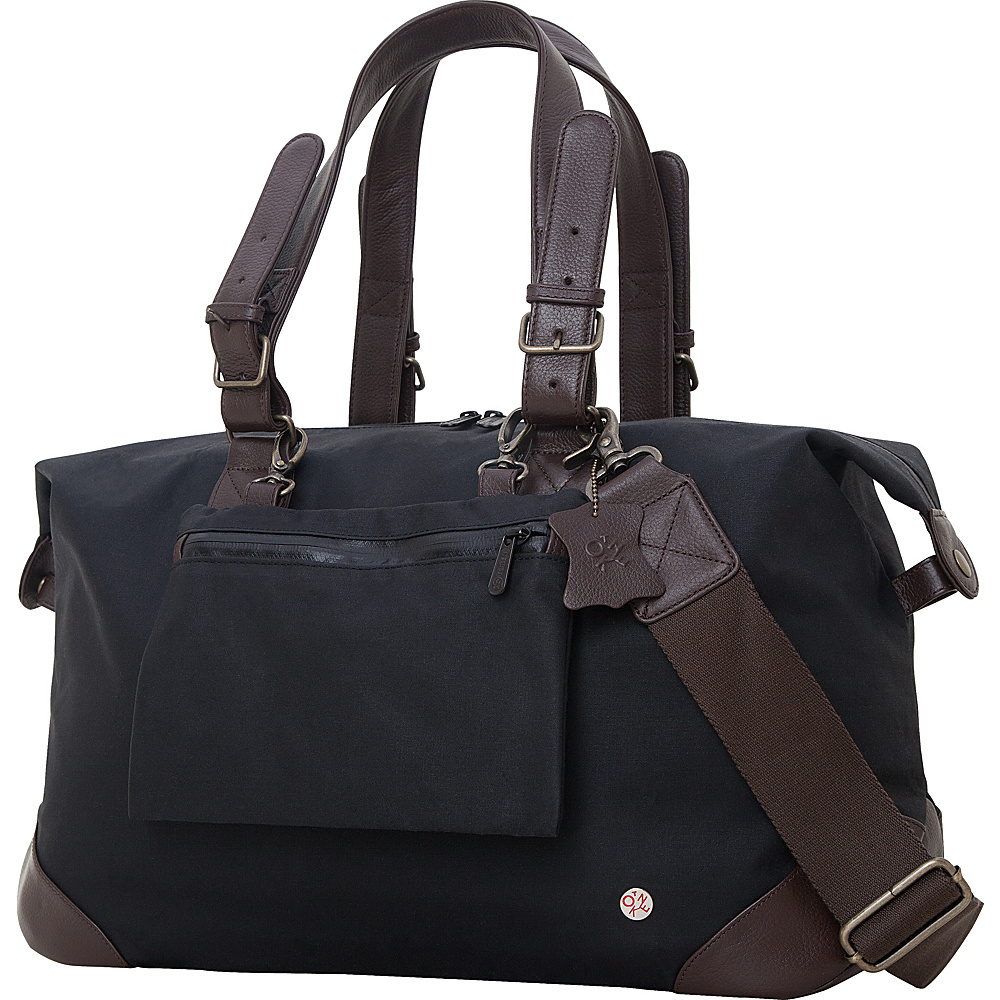 TOKEN Lafayette Duffel Bag M Black TOKEN Travel Duffels