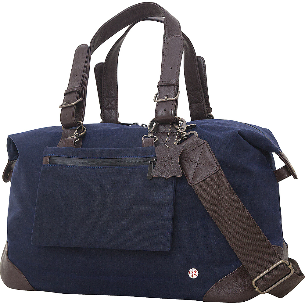 TOKEN Lafayette Duffel Bag M Navy TOKEN Travel Duffels