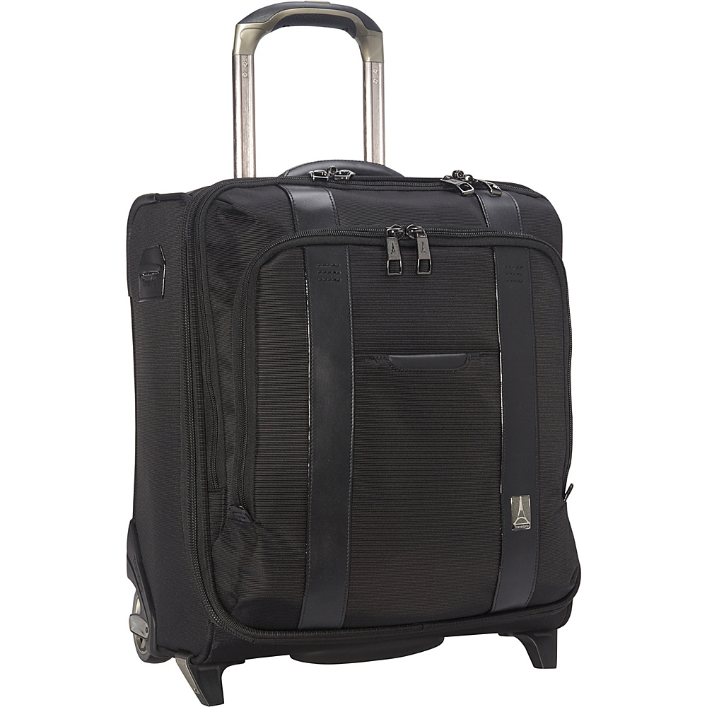 Travelpro Crew Executive Choice Rolling Business Overnighter Black Travelpro Wheeled Business Cases
