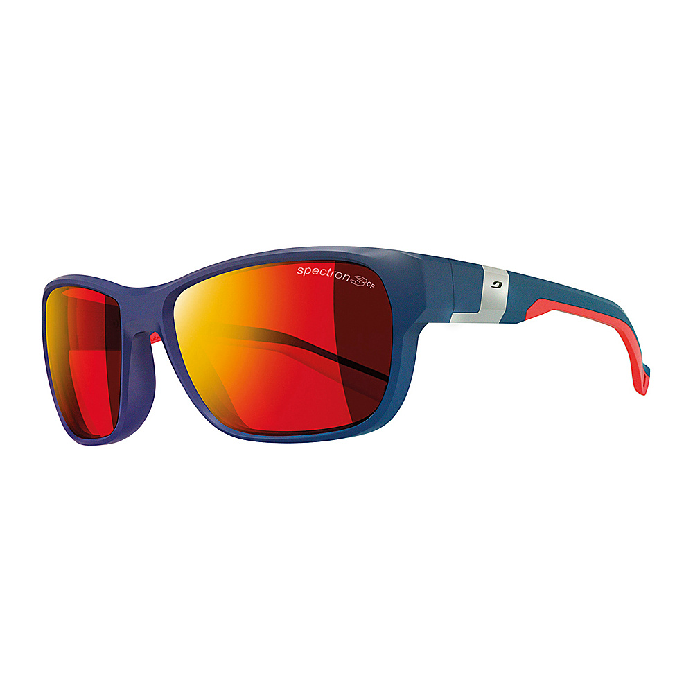 Julbo Coast Sunglasses with Spec 3CF Lenses Dark Blue Red Julbo Sunglasses