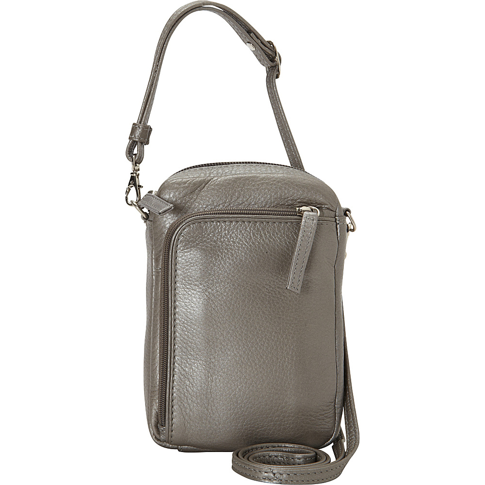 Derek Alexander Small Camera Bag Silver - Derek Alexander Camera Accessories