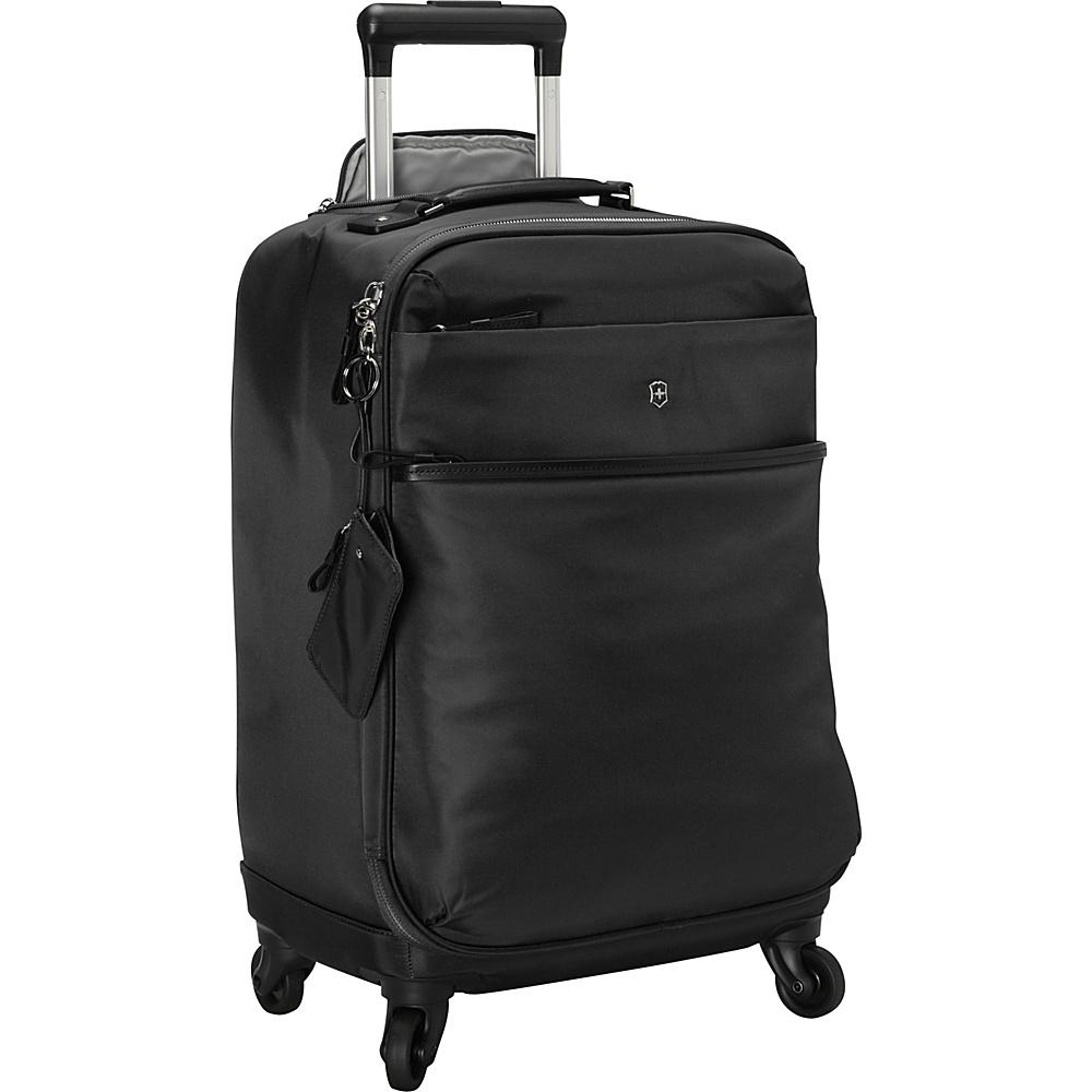 "Victorinox Ambition 20"" Carry-On Spinner Black - Victorinox Kids' Luggage"