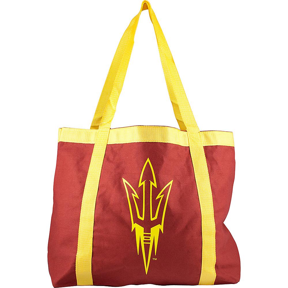 Littlearth Team Tailgate Tote - Pac12 Teams Arizona State University - Littlearth Fabric Handbags - Handbags, Fabric Handbags