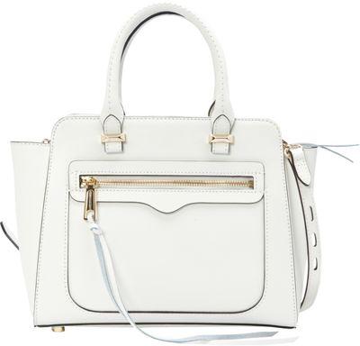 Rebecca Minkoff Mini Avery Tote White - Rebecca Minkoff Designer Handbags