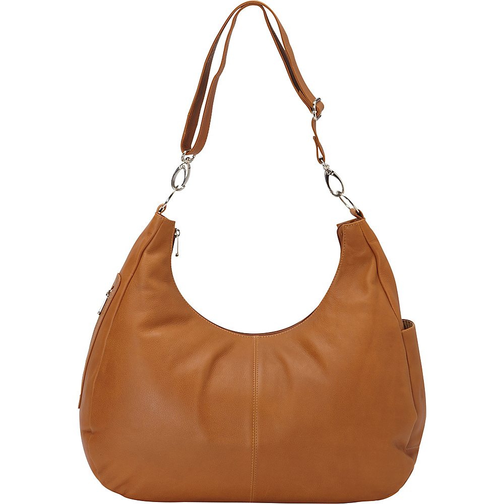 Piel Large Convertible Crossbody Bag Honey - Piel Leather Handbags - Handbags, Leather Handbags