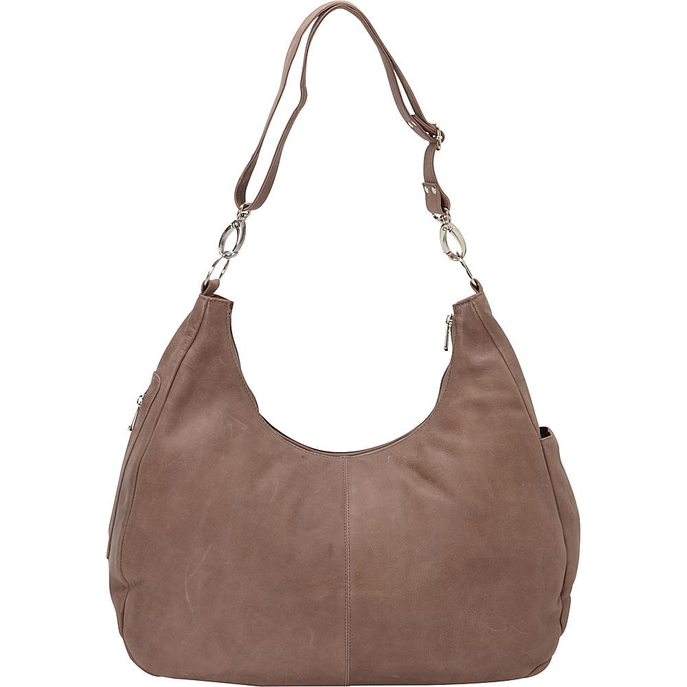 Piel Large Convertible Crossbody Bag Toffee- eBags Exclusive - Piel Leather Handbags - Handbags, Leather Handbags
