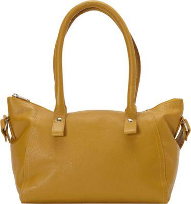 Sharo Leather Bags Women's High Fashion Shoulder Bag Burnt Mustard - Sharo Leather Bags Leather Handbags