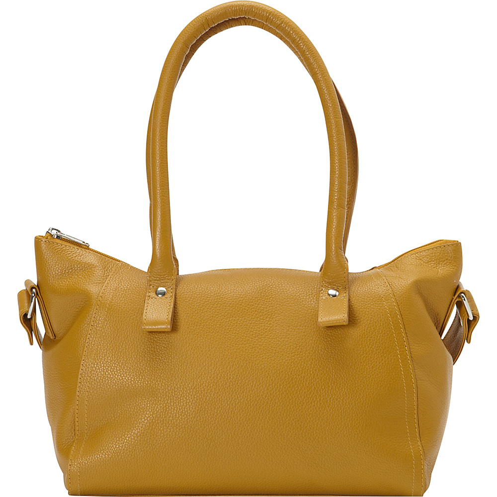 Sharo Leather Bags Women s High Fashion Shoulder Bag Burnt Mustard Sharo Leather Bags Leather Handbags